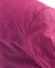 Brooklyn Jacket Velvet Red - Yuki Threads