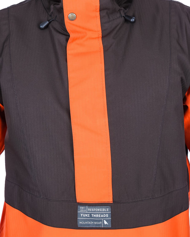 Street Jacket Charcoal / Burnt Orange - Yuki Threads