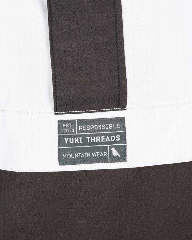 Street Jacket Off White / Charcoal - Yuki Threads