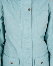 Brooklyn Jacket Sea Green - Yuki Threads