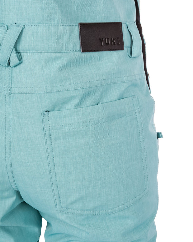 Brooklyn Bib & Brace Sea Green - Yuki Threads