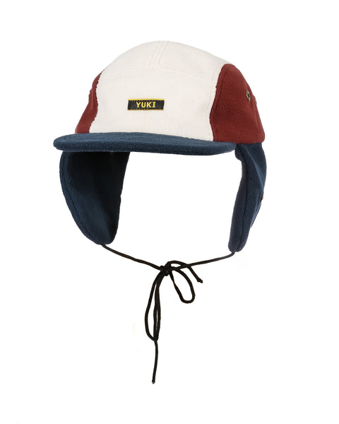 Ushanka Navy / Maroon / Off White - Yuki Threads