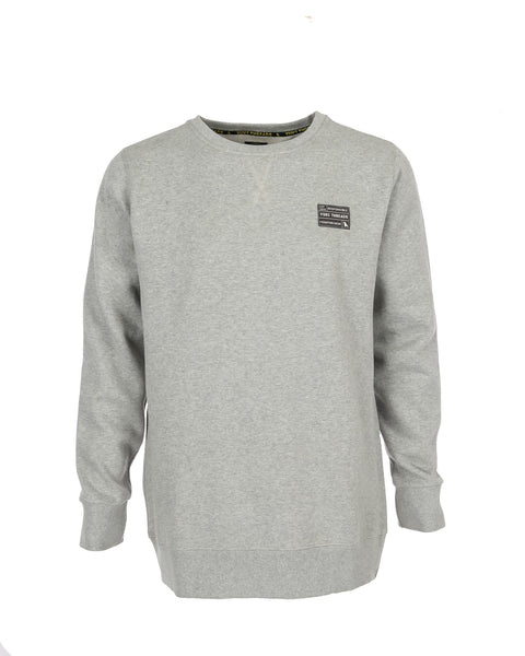 Highlander Crew Heather Grey - Yuki Threads