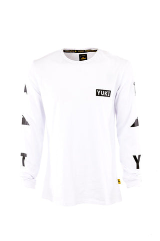 Icon Long Sleeve Tee White