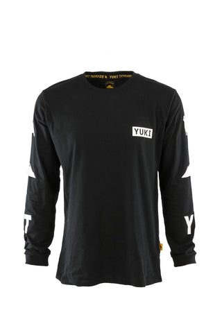 Icon Long Sleeve Tee Black