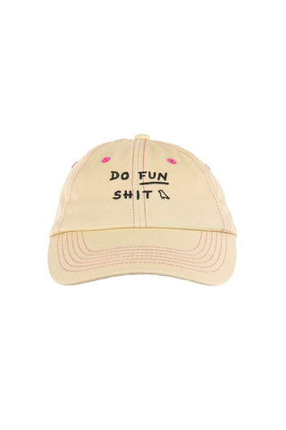Do Fun Shit Dad Cap Washed