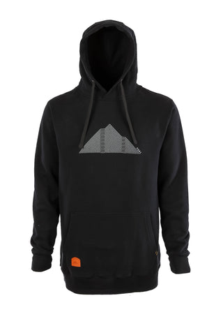 Mountain Hoodie Black - Yuki Threads
