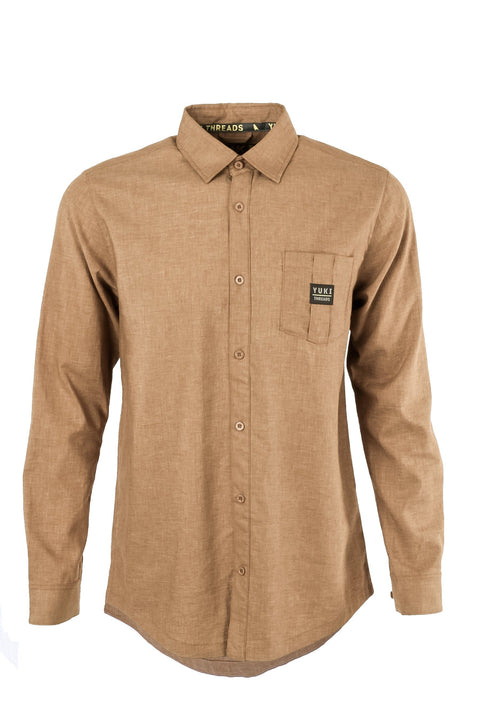 420 Shirt Brown - Yuki Threads