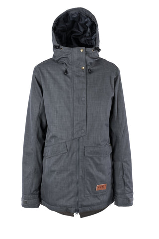 Brooklyn Jacket Charcoal - Yuki Threads