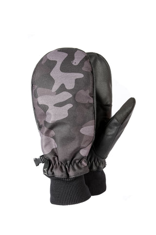 Spring Mitt Black Camo - Yuki Threads
