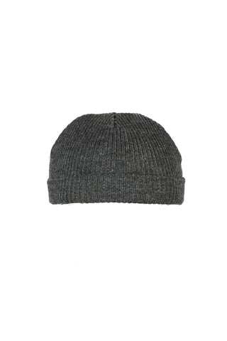 Fishermans Beanie Charcoal Melange