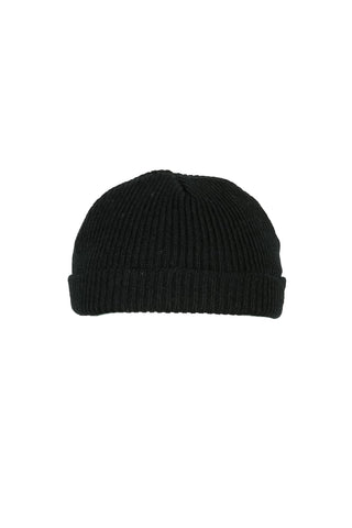 Fishermans Beanie Black