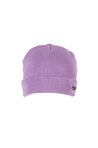 Metallic Car Beanie Dirty Lilac