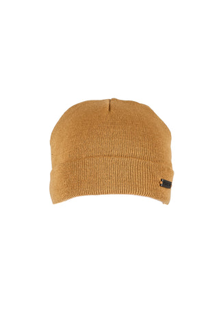 Metallic Car Beanie Tan