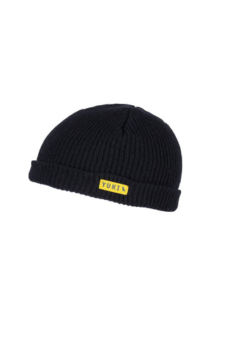 Fishermans Beanie Black - Yuki Threads