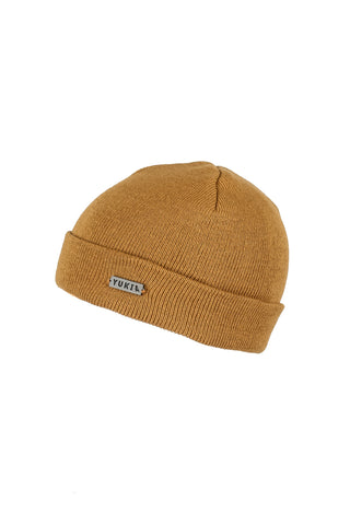 Metallic Car Beanie Tan - Yuki Threads