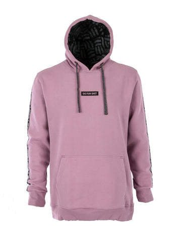 Do Fun Shit Hoodie Dirty Lilac - Yuki Threads