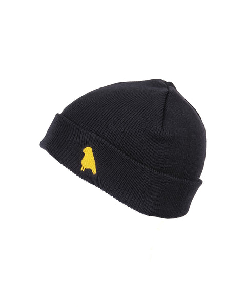 Bird Beanie Navy - Yuki Threads