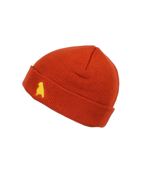 Bird Beanie Burnt Orange - Yuki Threads