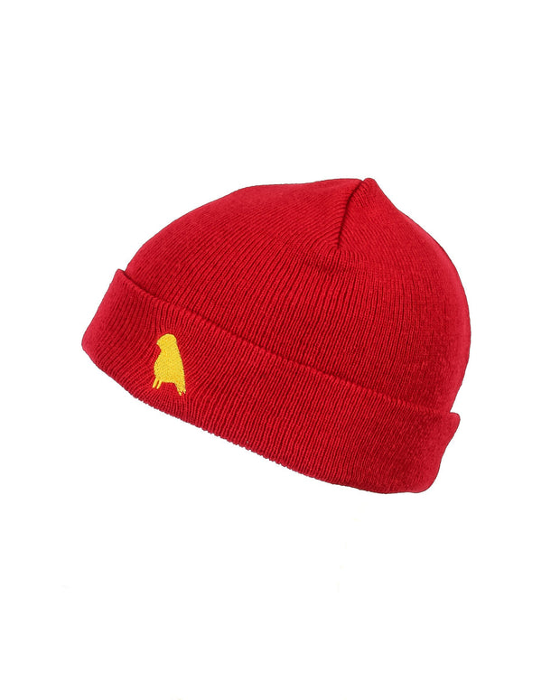 Bird Beanie Tommy Red - Yuki Threads