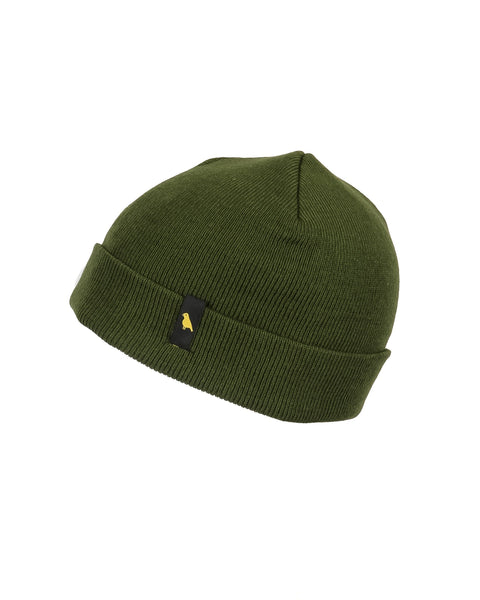 Crew Beanie Olive - Yuki Threads