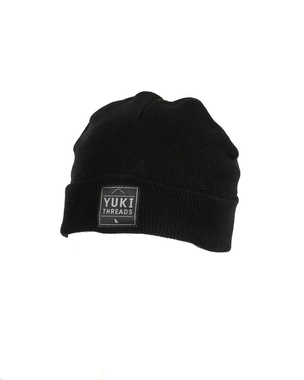 Front & Centre Beanie Black - Yuki Threads
