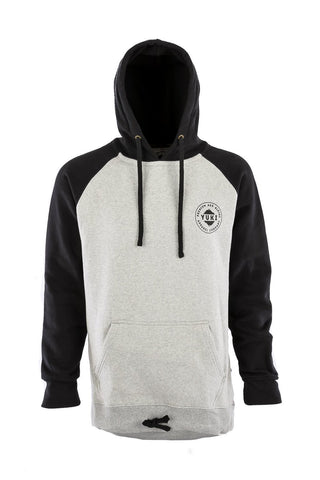 Retro Hoodie Black/Heather Grey DWR