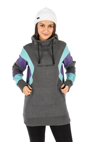 DWR MD Shred Hoodie Charcoal Marle