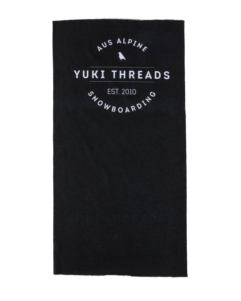 Neck Jocks Logo Black - Yuki Threads