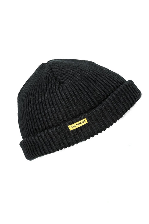Monger Beanie Black - Yuki Threads