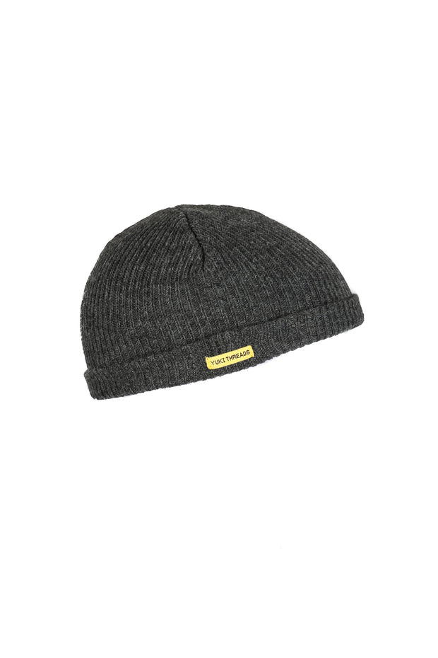 Monger Beanie Charcoal Melnage - Yuki Threads