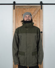 Tundra Jacket Olive - Yuki Threads