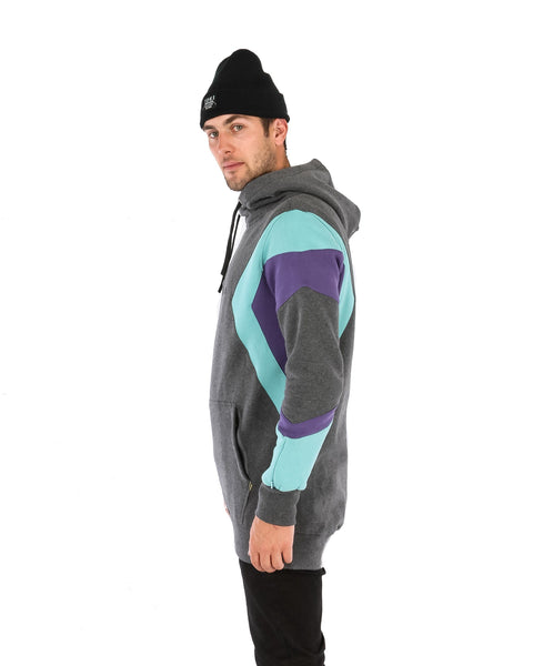 DWR MD Shred Hoodie Charcoal Marle - Yuki Threads