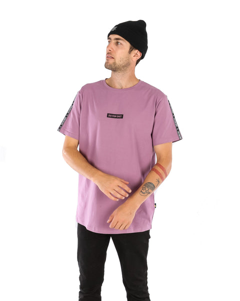 Do Fun Shit SS Tee Dirty Lilac - Yuki Threads