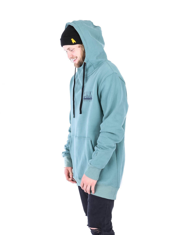 Baker Hoodie Sage Bush Green - Yuki Threads