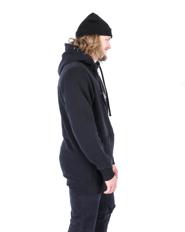 Stacked Hoodie Black - Yuki Threads