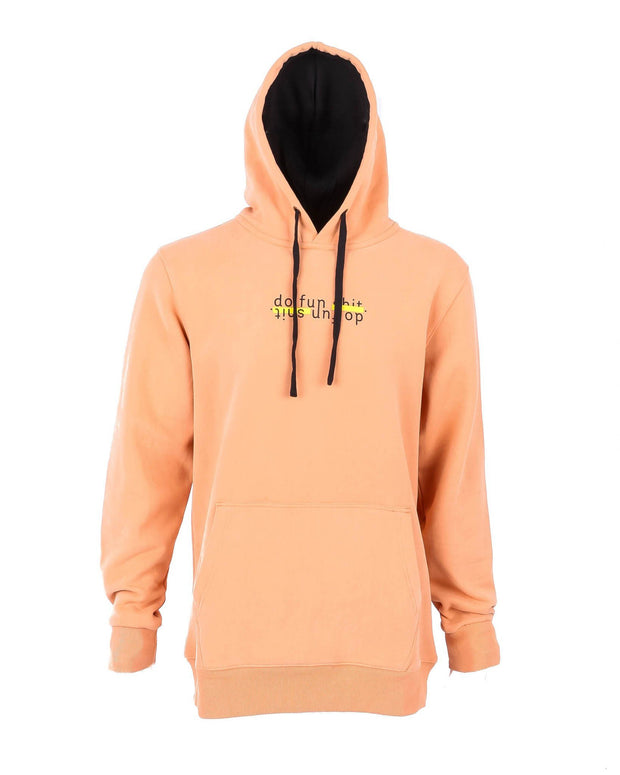 Do Fun Shit Hoodie Copper
