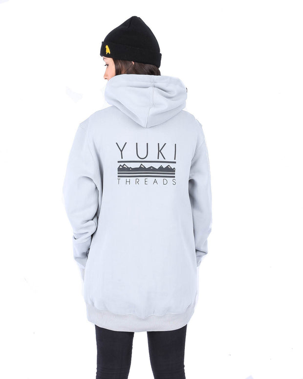 Baker Hoodie Heather Grey - Yuki Threads