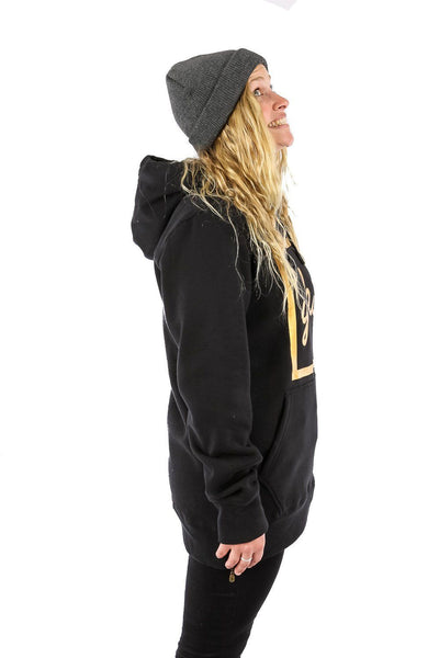Alley Cat Hoodie Black