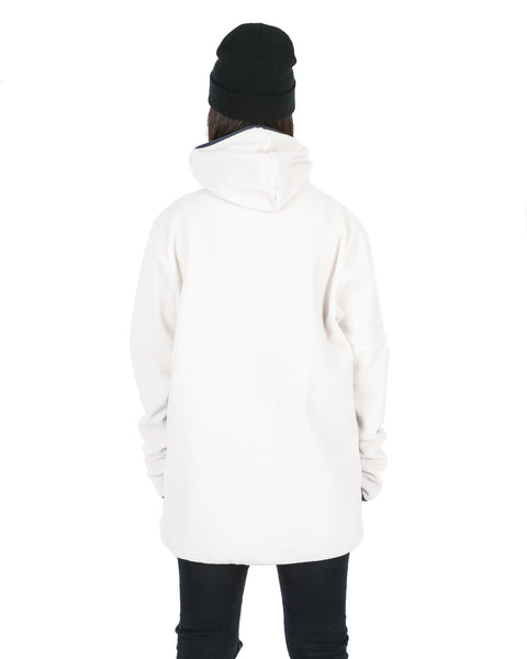 South Polar Hoodie Off White / Navy - Yuki Threads