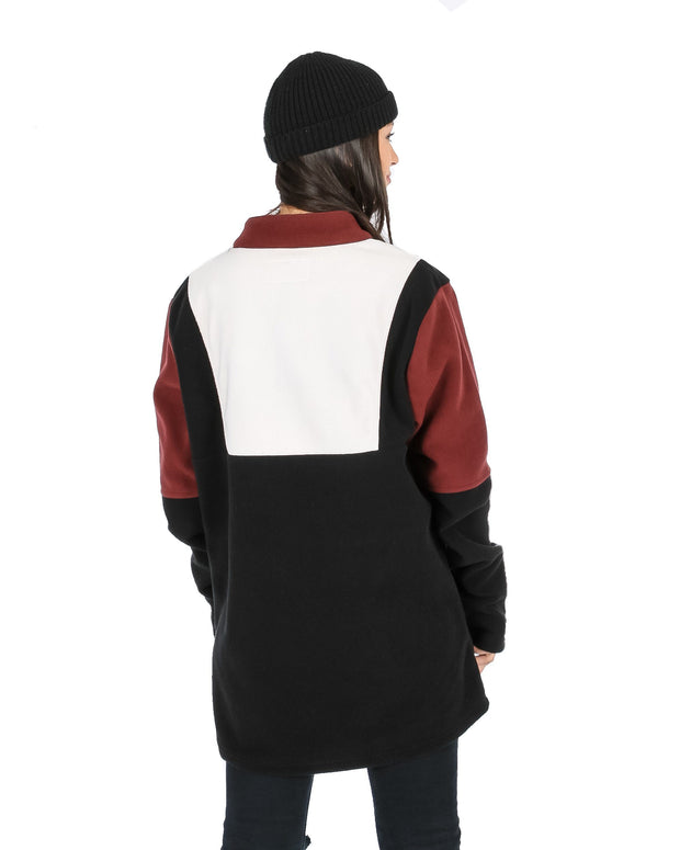 Fresh Prince Fleece Black / Off White / Maroon - Yuki Threads