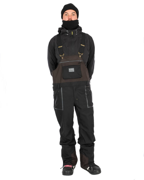 Tundra Bib & Brace Black / Charcoal - Yuki Threads