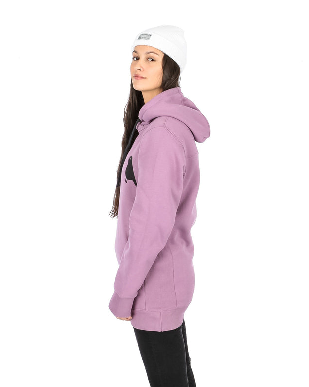 Trim Hoodie Dirty Lilac - Yuki Threads