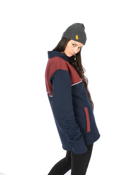 Torquay Cheater Navy / Maroon - Yuki Threads