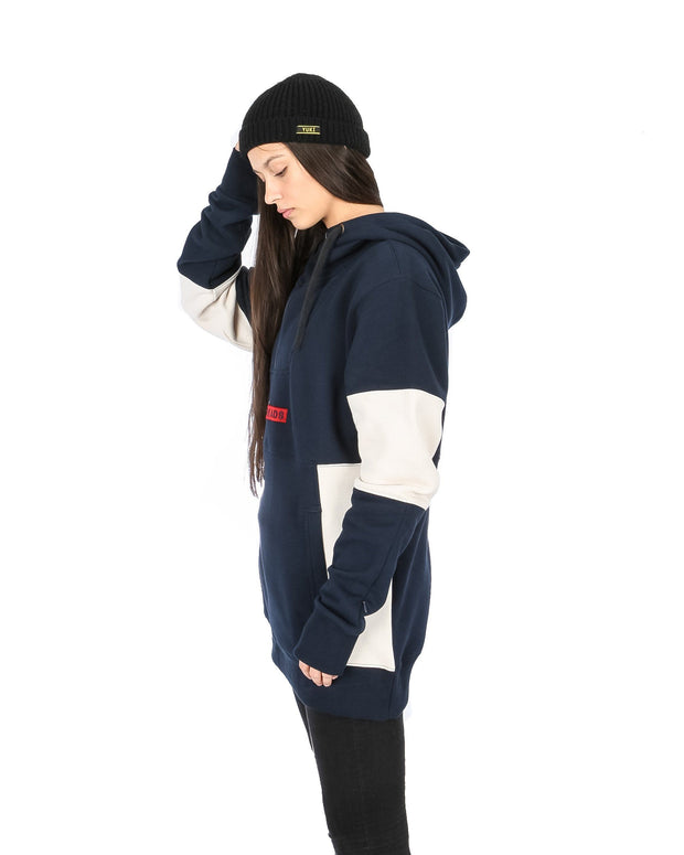 Wildcat Anorak Navy / Off White - Yuki Threads