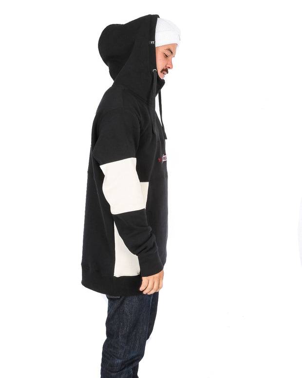 Wildcat Anorak Black / Off White - Yuki Threads
