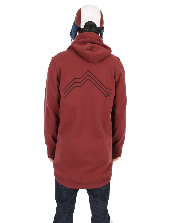 OG Shred Hoodie Maroon - Yuki Threads
