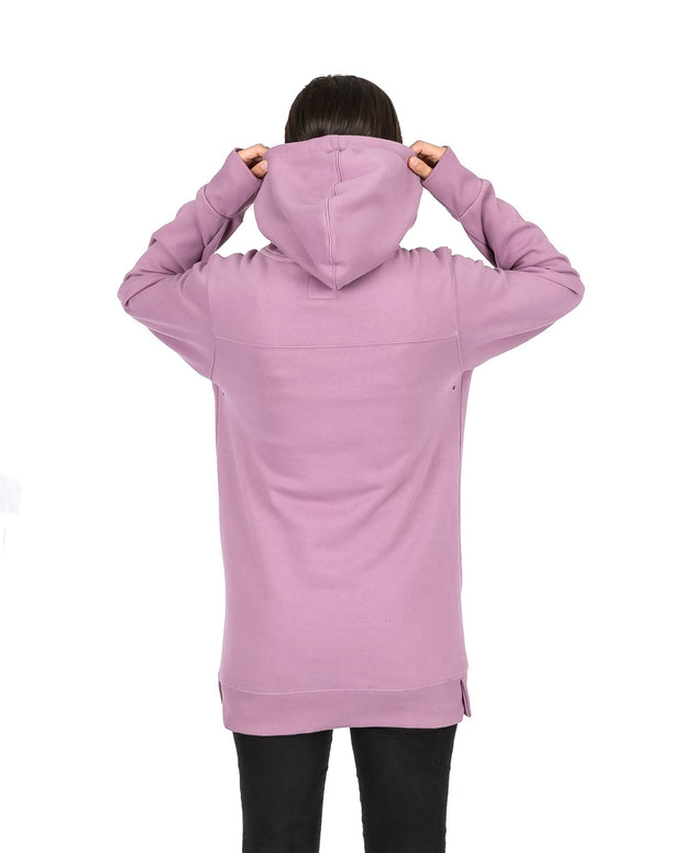 Slim Fit Old Mate Hoodie Dirty Lilac - Yuki Threads