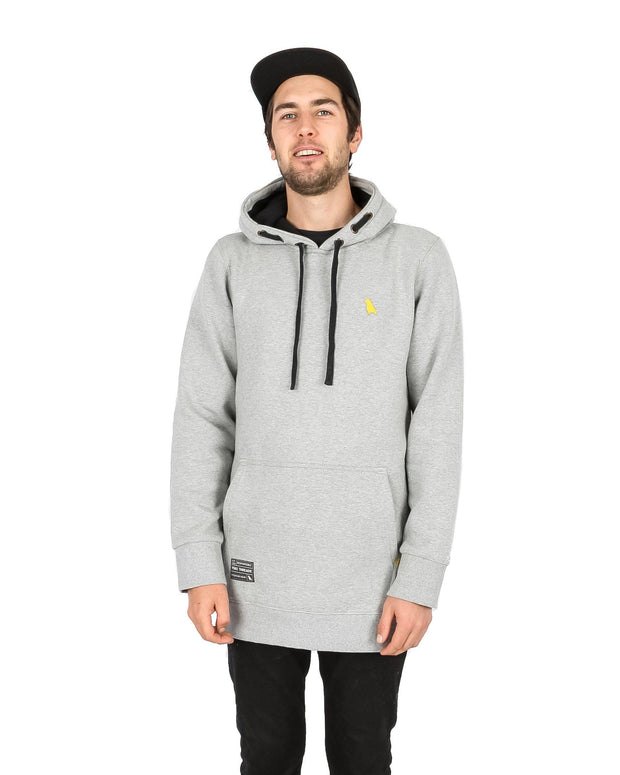 Old Mate Hoodie Slim Fit Heather Grey - Yuki Threads
