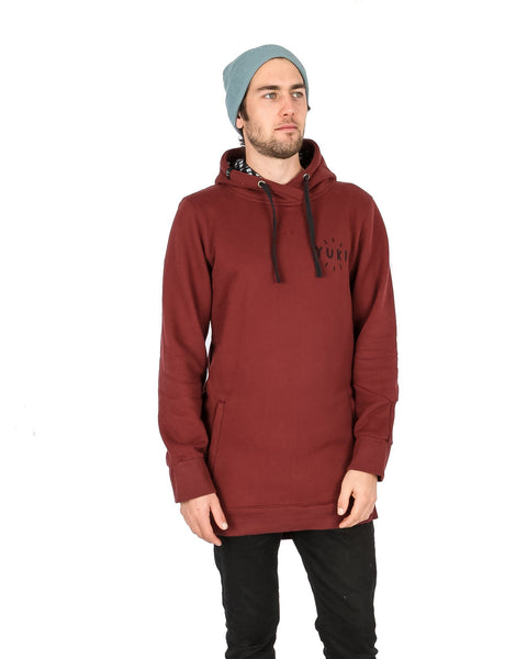 Little Vegemite Hoodie Maroon - Yuki Threads
